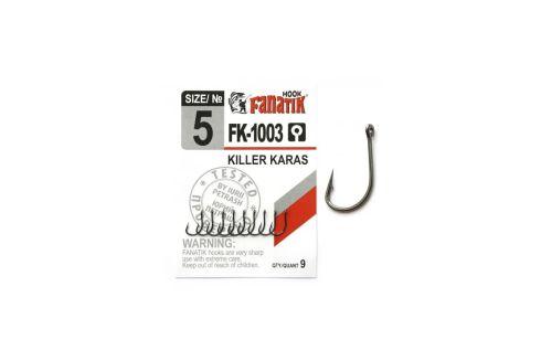 Крючки Fanatik FK-1003 Killer Karas №5 9шт