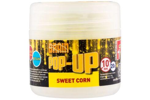 Бойлы Brain Pop-Up F1 Sweet Corn (кукуруза) 10мм/ 20г
