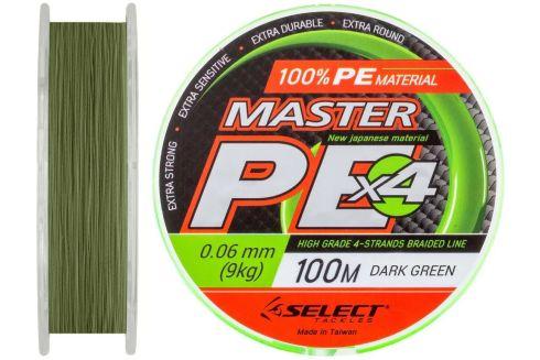 Шнур Select Master PE 100м/ 0.06мм