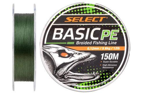 Шнур Select Basic PE 150м 0.12мм 12lb/ 5.6кг